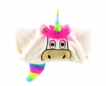 LazyOne Hooded Critter Fleece Unicorn Blanket